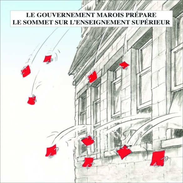 Caricature Georges Chapleau