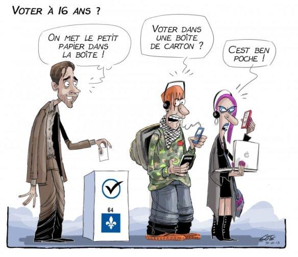 vote à 16 ans Côté