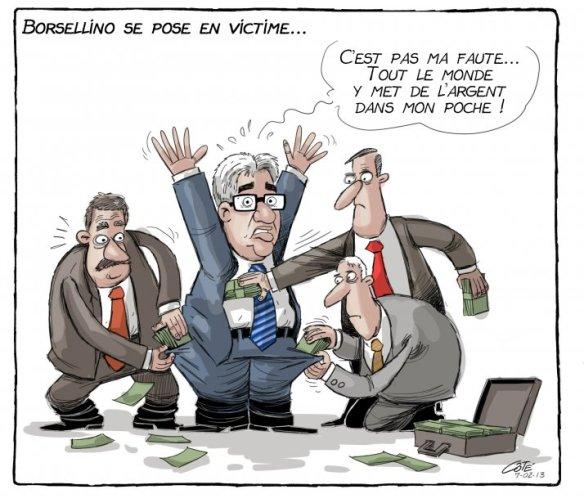 corruption forcée Côté