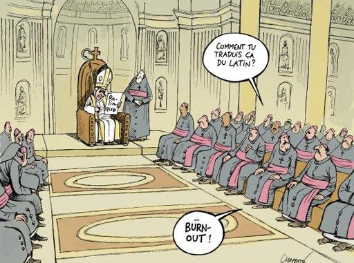 démission du Pape Chapatte