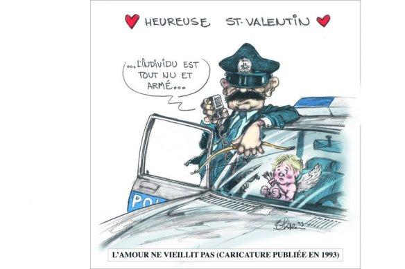 St Valentin policier