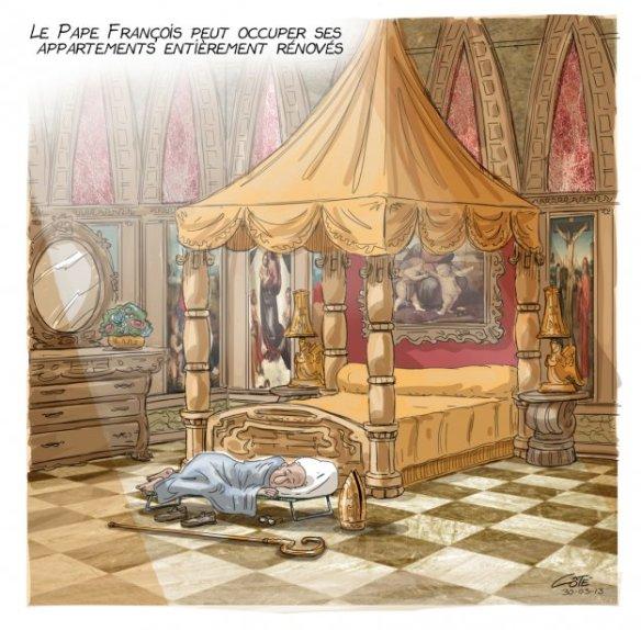appartements du Pape