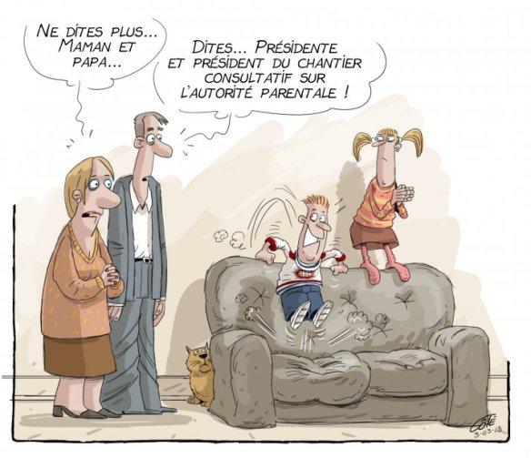 autorité parental Côté