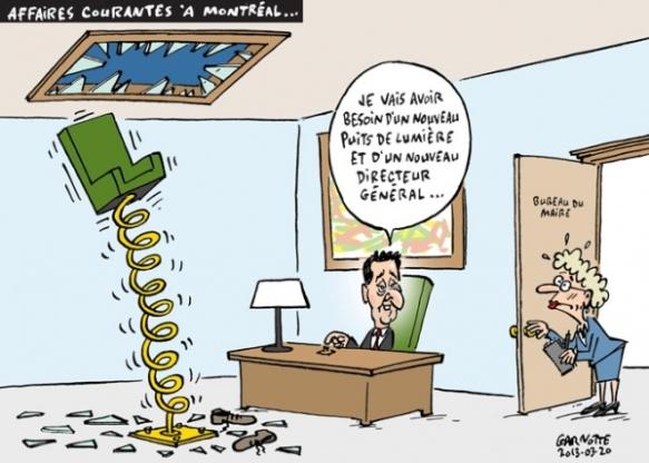 départ du DG Montréal