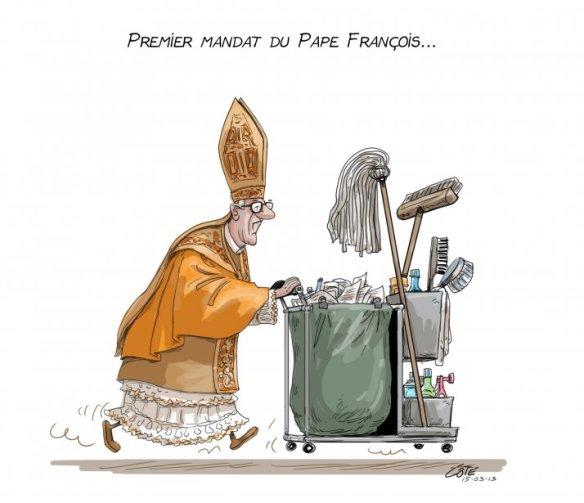 Mandat pape François