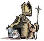 sortie du Pape