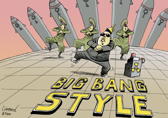 Big bang style  Chappatte