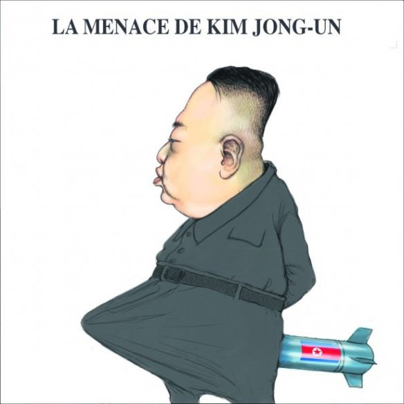 menace Kim-jung-un Chapleau