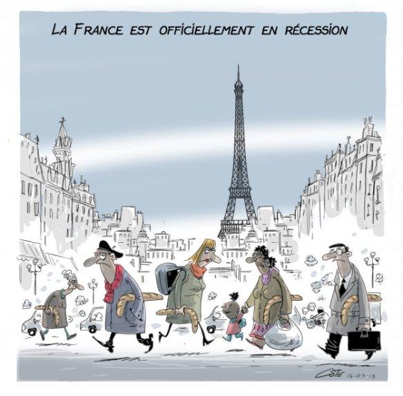 France récession Côté