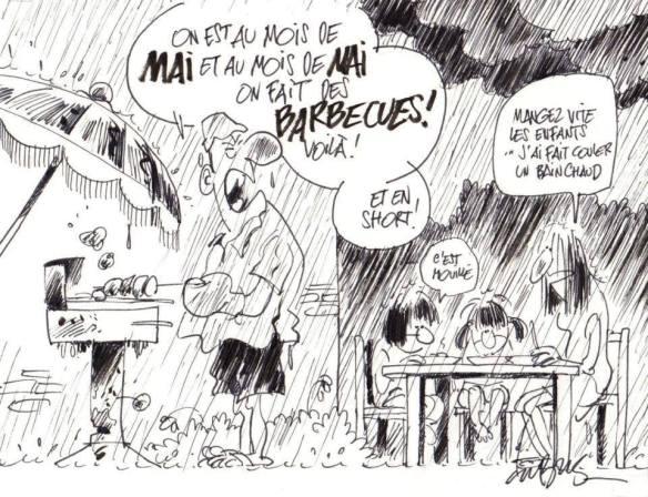 pluie en France