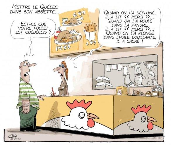 poulet Québécois Côté