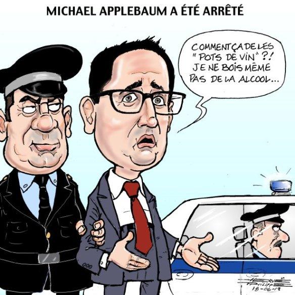 Arrestation du Maire par interim de Montréal