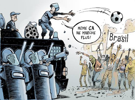 Brésil émeutes