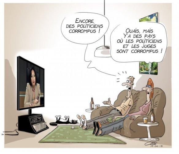 corruption Côté