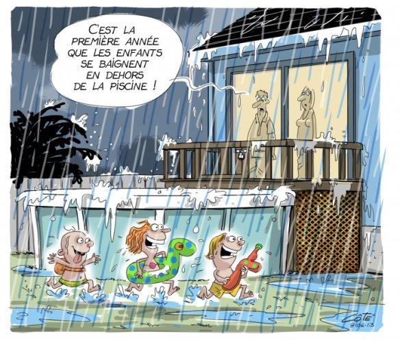 pluie Côté
