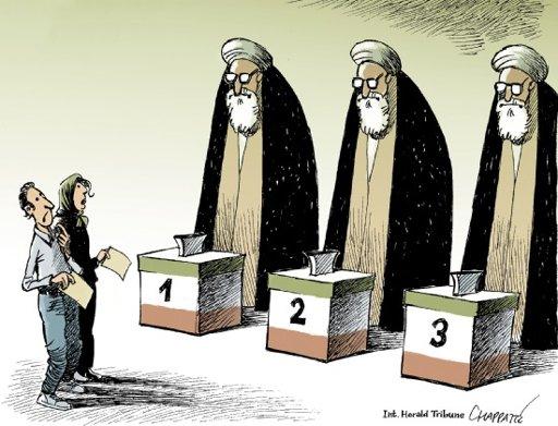 vote Iranien