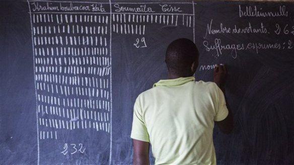 Le 2e tour des élections au Mali - photo AFP