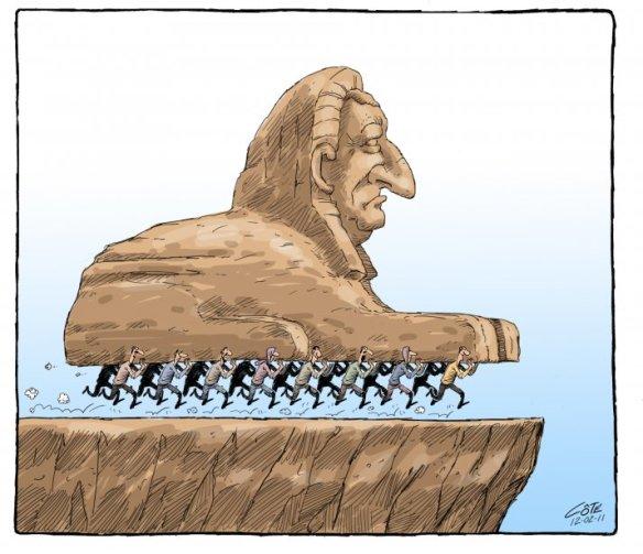 Avril 2011, le printemps Arabe