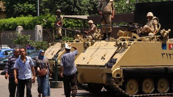 Les chars Égypte