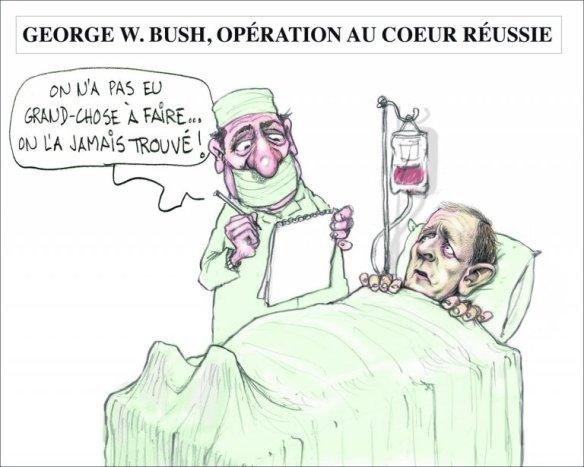 opération coeur ouvert Bush Chapleau