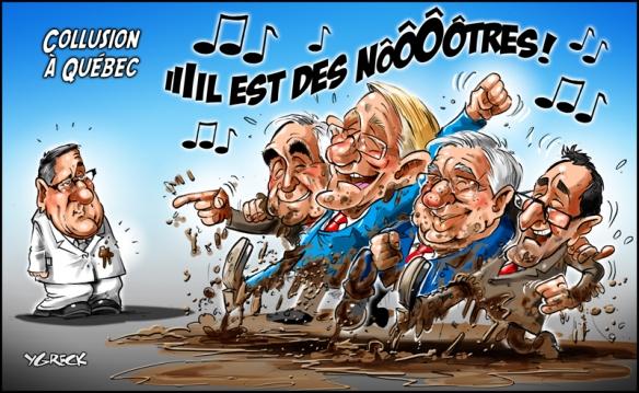 collusion à Québec Ygreck