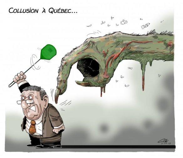 Collusion Québec Côté