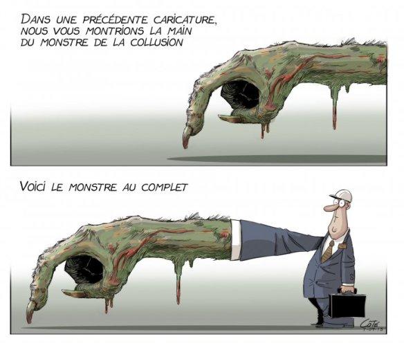 collusion Québec, le monstre Côté