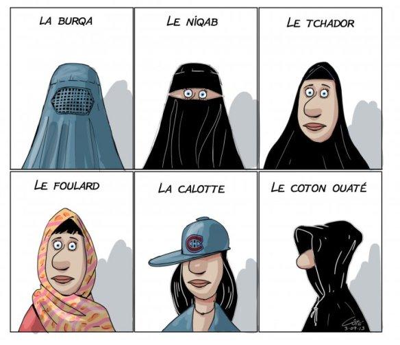 Niqab Côté