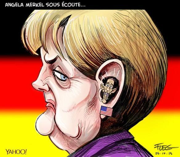 Merkel sous écoute