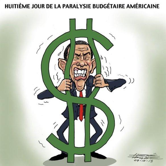 paralisie budgétaire USA