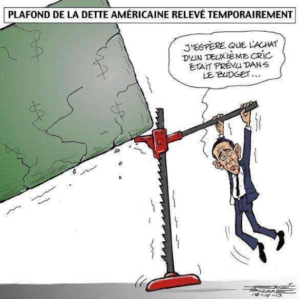 relèvement dette USA Philippe