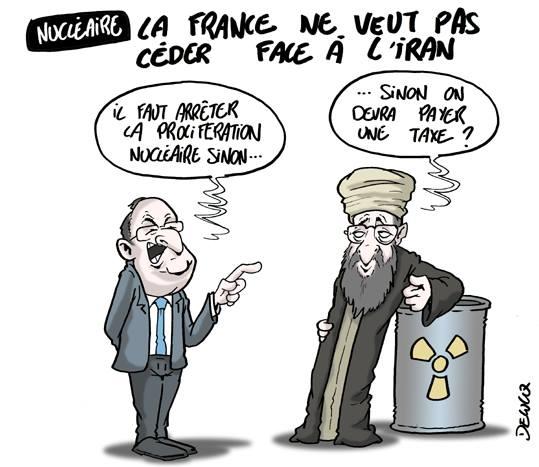 Nucléaire France Iran