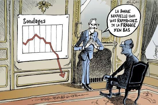 sondages Hollande