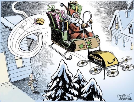 distribution de cadeaux Chappatte