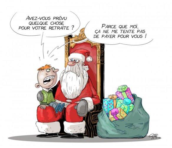 retraite du Père Noël Côté