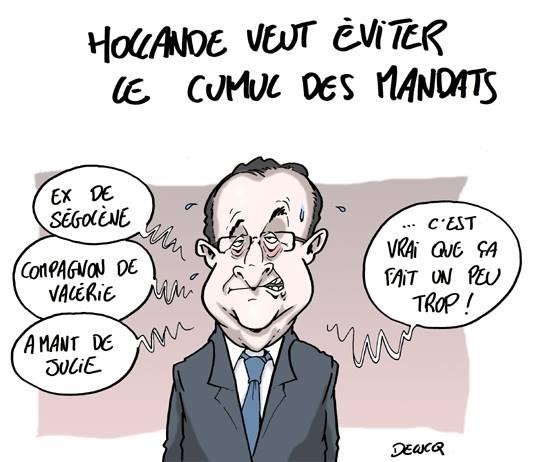 cumul mandat Hollande Delucq