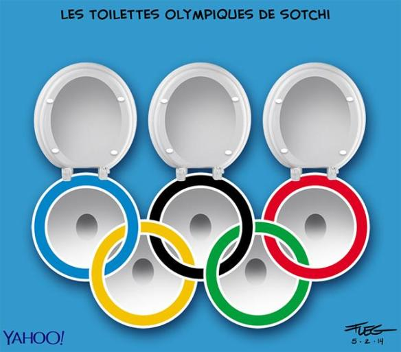 toilettes olympiques