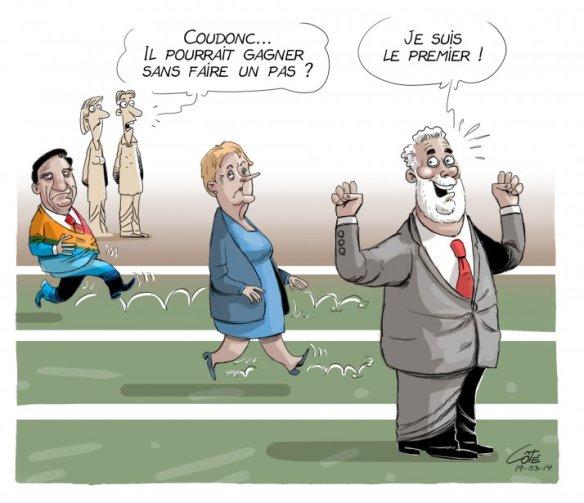 1er dans les sondages Côté