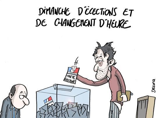 élection changement d'heure