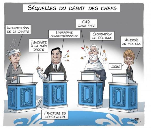 débat des chefs Côté