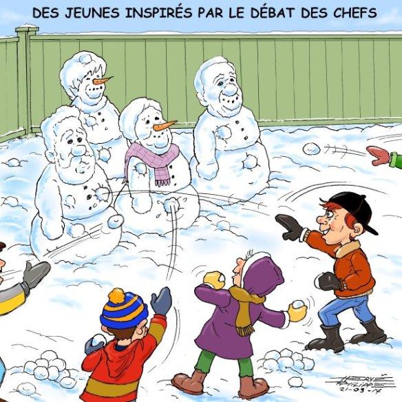 débat des chefs Hervé Philippe