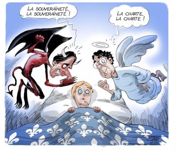 Pauline entre ange et diable Côté