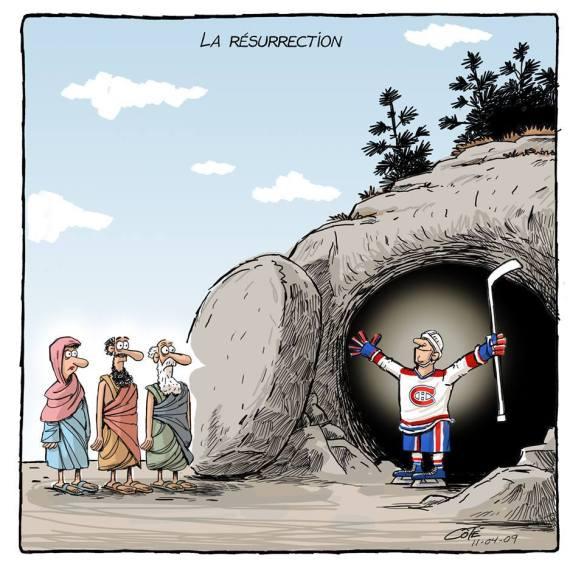 Canadien résurrection Côté