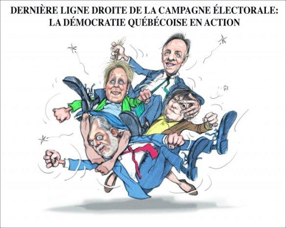 caricature de Chapeleau