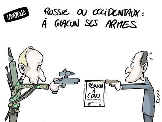 duel Russie-Europe Delucq