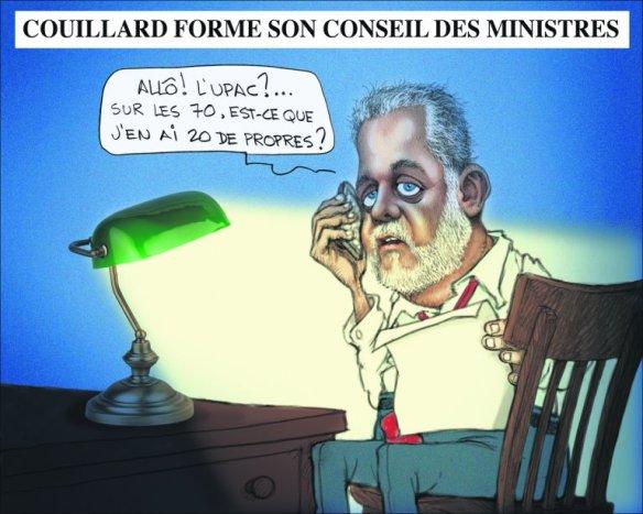 caricature de Chapleau