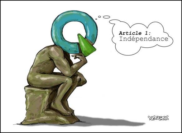 indépendance Ygreck