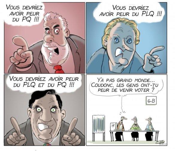 politique de peur Côté