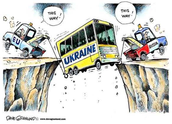 Ukraine écartelée