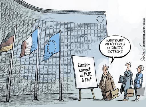 élargissement de l'Europe Chappatte